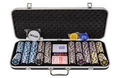 This numbered poker chips set has been specifically designed for use in home games, pub poker tournaments and amateur poker leagues. The heavy weight 14 gram professional poker chi