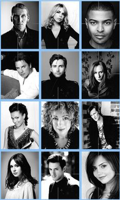 Doctor Who cast 2005-present. They are all so beautiful!