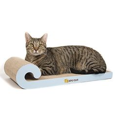 cat scratching post durable - Durable and Reversible Cat Scratcher by Bone and Yarn   #CatScratchingPost