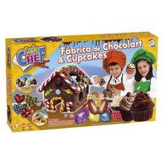 Juguete CEFACHEF FABRICA CHOCOLART Y CUPCAKES de Cefa Toys Precio 29,75€ en IguMagazine #juguetesbaratos