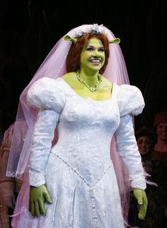 Desired Look Of Princess Fiona Wedding Dresses