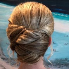 """111 Likes, 9 Comments - Hair And Makeup I Do (@hairandmakeupido) on Instagram: """"#bridalupdo by @natali3dawn #hairandmakeupido #weddingday #bridalhairstyle #braid #brides #ido…"""""""