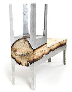 . Wabi SABI Skandinawië - Ontwerp, Kuns en DIY: Editor's Choice: Stunning Meubels van hout en gooi aluminium