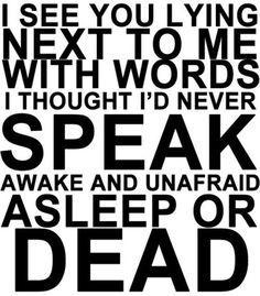 Famous Last Words. My Chemical Romance.