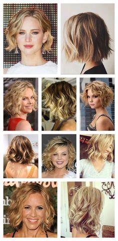 Hair Style Tutorial: Easy Beachy Waves For Short Hair - Hair Styles Beach Waves For Short Hair, How To Curl Short Hair, Super Short Hair, Beach Wave Hair, Short Hair Hacks, Short Hair Styles Easy, Short Hair Cuts, Curly Short, Wavy Bob Hairstyles