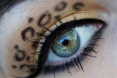 Animal Print Eyeshadow