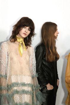 CHLOE FW16 © Elodie Chapuis #fashion #fw16 #backstage #chloe #elodiechapuis