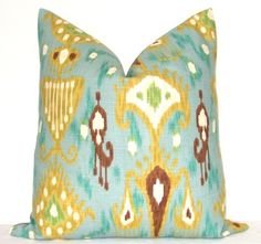 Pillow Cover  Decorative Pillow  Throw Pillow  Toss by kyoozi, $45.00