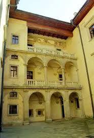 Wisnicz Nowy zamek Poland