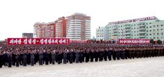 핵탄두폭발시험성공을 경축하는 평안북도군민련환대회 진행-《조선의 오늘》