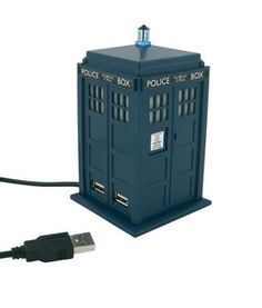 Doctor Who TARDIS 4 Port USB #Hub. Want it? Own it? Add it to your profile on unioncy.com #tech #gadgets #electronics #gear