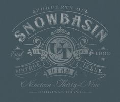 Good gosh. Love the colors, the textures, and the type. Give me that warn chalk or warn applique look. Give it to me NOW!