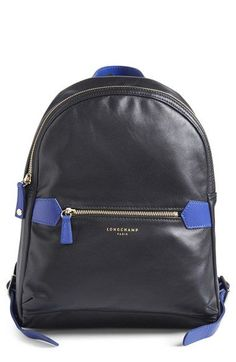 Longchamp '2.0' Leather Backpack available at #Nordstrom