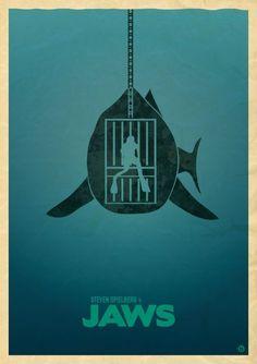 Jaws Movie Poster on Pinterest   Alternative Movie Posters, Soda ...