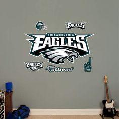 Fathead Philadelphia Eagles Logo Decal - Wall Sticker Outlet