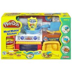 Play Doh Kitchen Set Toy Children Kids Fun Pretend Oven Pans Stove Girl Boy Gift - Other