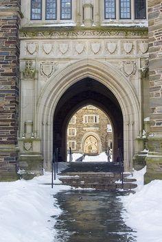 Princeton - prettiest campus, especially in the snow!