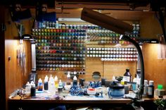i would love this in my hobby room! So hard to find the paint you need sometimes!