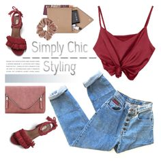 """Simply chic"" by purpleagony on Polyvore featuring STOW and Topshop"