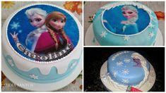 Novo Com Tema Disney Disney Frozen Decoração De Bolos conjuntos//19