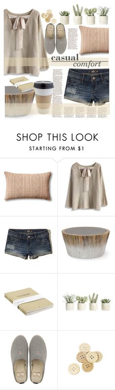 """""""Untitled #205"""" by senalica ❤ liked on Polyvore featuring Johanna Howard, Chicwish, Hollister Co., Palecek, OUTRAGE, Allstate Floral, GANT and C.R.A.F.T."""