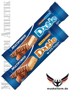 Multipower Double Protein Bar #Energieriegel #Snack #Protein #Sport #Fitness #Workout