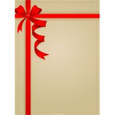 [フリーイラスト素材] クリップアート, クリスマスカード, クリスマス, 12月, 行事 / イベント, カード, リボン, SVG ID:201410311400