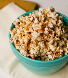 Coconut Oil Popcorn: Chili Cinnamon. Spicy Sweet. (I just made this - it is SO so good.)