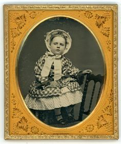 EXCEPTIONAL AND RAZOR-SHARP 1/6 PLATE DAGUERREOTYPE OF A SWEET LITTLE GIRL | eBay