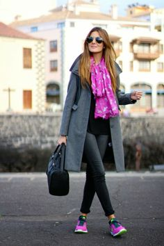 Fashion Tips For Girls .Fashion Tips For Girls Nike Outfits, Sport Outfits, Casual Outfits, Fall Winter Outfits, Winter Fashion, Casual Winter, Women's Fashion, Fashion Outfits, Tennis Shoes Outfit