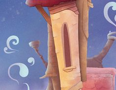 """Check out new work on my @Behance portfolio: """"magic house"""" http://be.net/gallery/49951467/magic-house"""