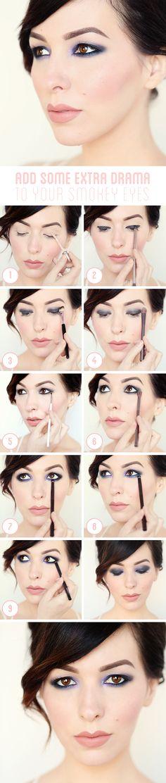 Makeup Monday Tutorial: How To Dramatize Your Smokey Eyes