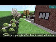Proyecto de jardín arq. paisajista Karolina Krzewicka-Romera - YouTube