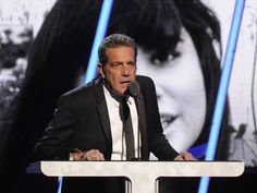 Glenn Frey speaks at the 2014 Rock and Roll Hall of