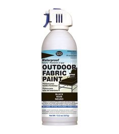 Simply Spray Outdoor Paint is a waterproof nontoxic nonflammable