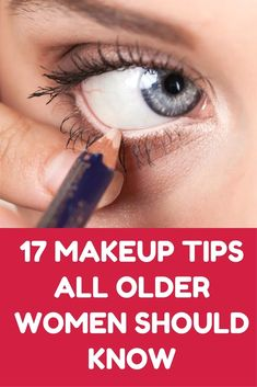 17 Makeup Tips All Older Women Should Know About (Slideshow) #WoodworkIdeas
