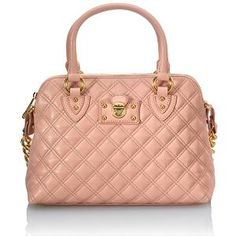 Marc Jacobs Quilted Carmine Satchel Handbag