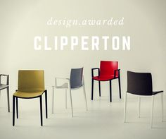 A contemporary profile, practicality, elegance and comfort are the key features of this seating family, showing a stylish and unusually textured shell. Designed by Marc Sadler, Clipperton has been selected for the Iconic Awards - Interior Innovation. www.gaber.it #designchair #designhome #interiordesign