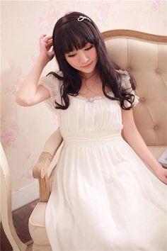 2016Free shipping Round-Neck Lace dressAnkle-Length Girl NightgownElegant short vestidosHIGHNESS Vintage hotsale sleepwear -- For more information, visit image link.