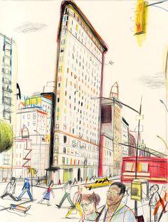 Yann Kebbi, New York's Flatiron Building