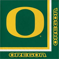 Univ of Oregon 2 Ply Lunch Napkins/Case of 240 Tags: University of Oregon; Lunch Napkins; Collegiate; University of Oregon Lunch Napkins;University of Oregon party tableware; https://www.ktsupply.com/products/32786326079/Univ-of-Oregon-2-Ply-Lunch-NapkinsCase-of-240.html