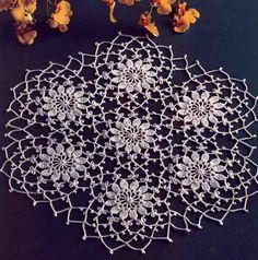 Lace Crochet Doily