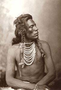 Ashishishe aka Curly 1856-1923 Crow Scout for the 7th Calvary. Curly was a scout for General Custer and was released from duty at the Battle of the Little Big Horn. Curly survived to describe the battle as he saw it.