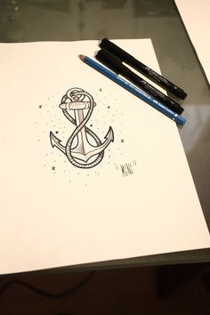 anchor with infinity rope.