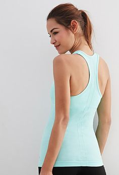Forever 21 is the authority on fashion & the go-to retailer for the latest trends, styles & the hottest deals. Shop dresses, tops, tees, leggings & more! Workout Essentials, Workout Tanks, Racerback Tank, Active Wear For Women, Basic Tank Top, Athletic Tank Tops, Latest Trends, Forever 21, High Neck Dress