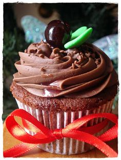 Fofurices: Devil´s food cupcake