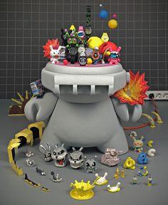 juguetes swatch-kidrobot