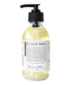 The Dr Jackson's 07 Face Wash is a regenerative cleanser that creates a lather that works on the skin using a plethora of natural ingredients improving skins moisture, tone and softness.