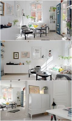 Deptos chicos on pinterest distressed coffee tables for Departamentos chicos