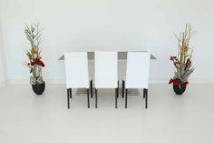 """Tisch """"exklusiv"""" Spice in Kombination mit den Stühlen """"Nivo"""" in weiß"""